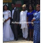 Bride with relatives