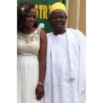 Happy Bride and her Dad