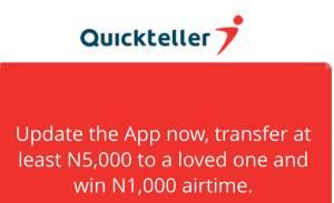 Quickteller mini app