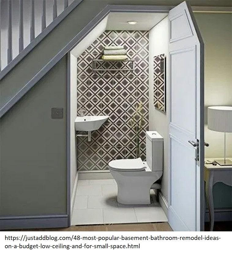 basement bathroom remodeling ideas