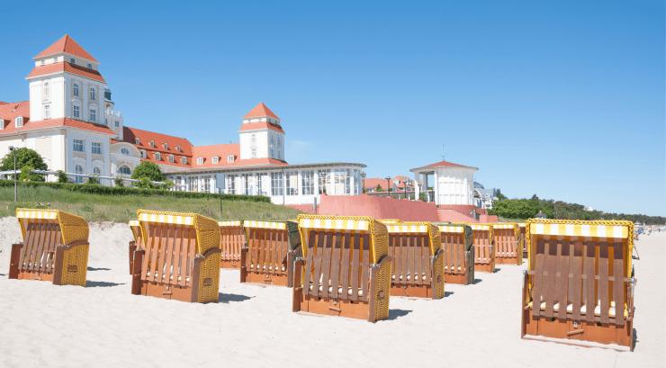 Binz Beach, Binz, Rugen Island, Germany, Europe