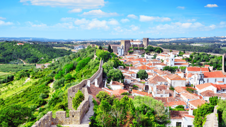 Day trip from Lisbon to Obidos