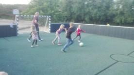 Der spilles fodbold