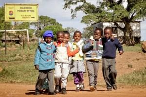 kids in shewula