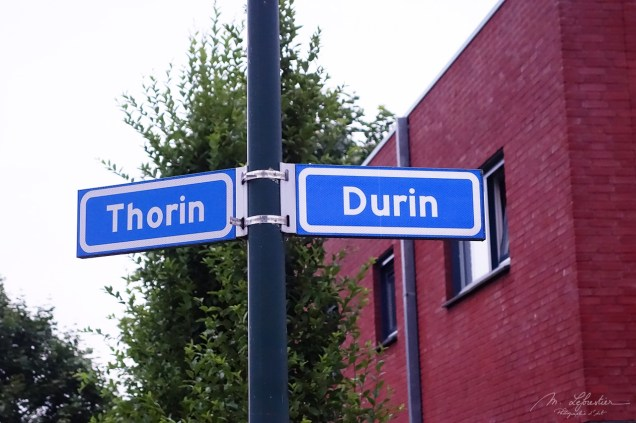 street signs of Thorin and Durin in Geldrop