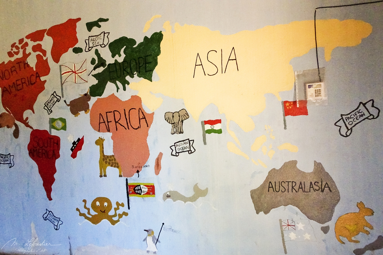 The world as seen by kids at the orphanage