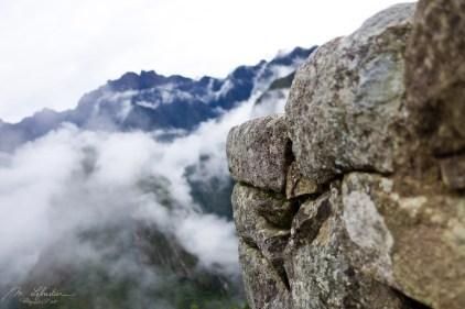 cloudy Machu Picchu in Peru