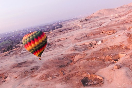 Hot air balloon Valley of the Kings