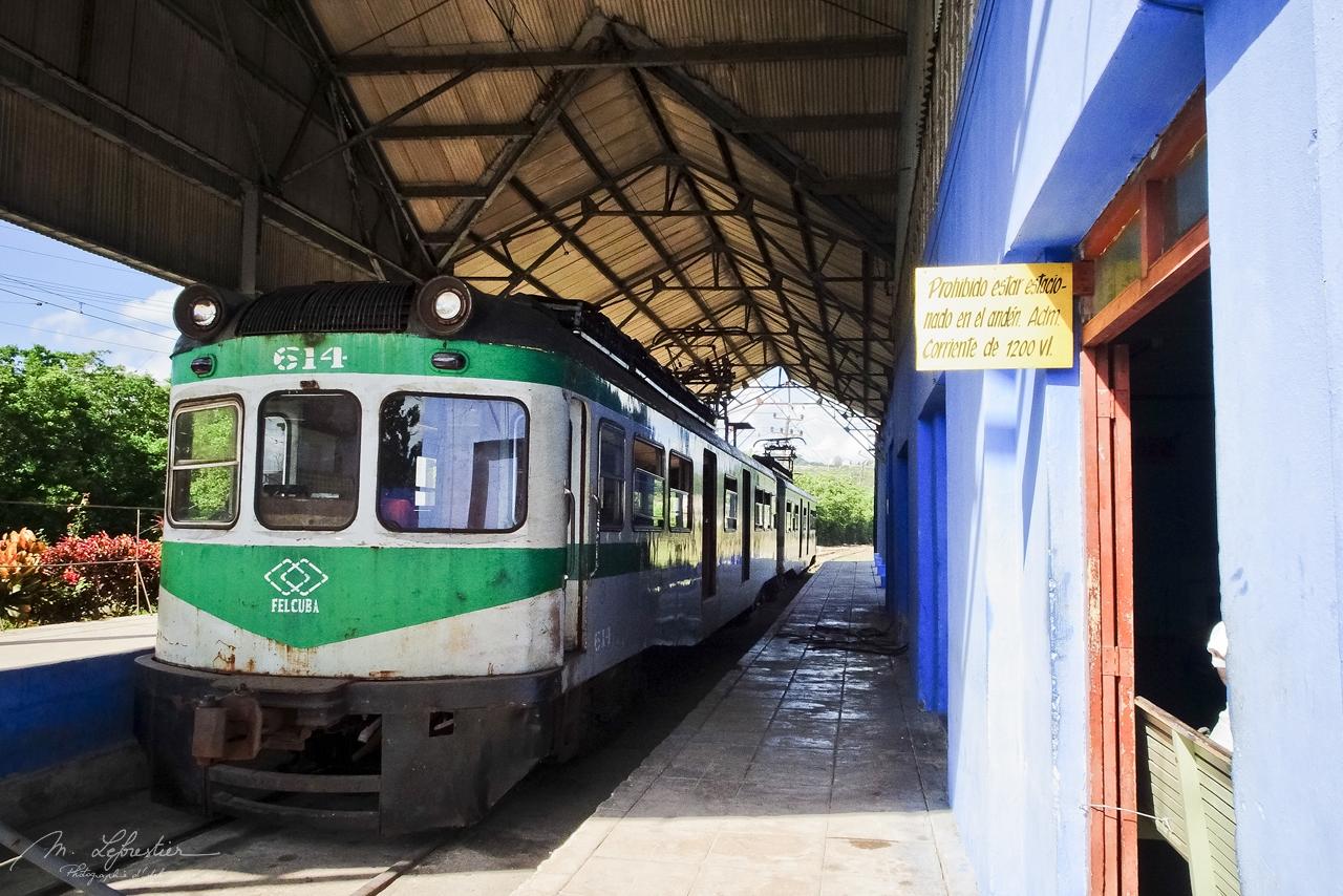 Hershey train Cuba Matanzas station