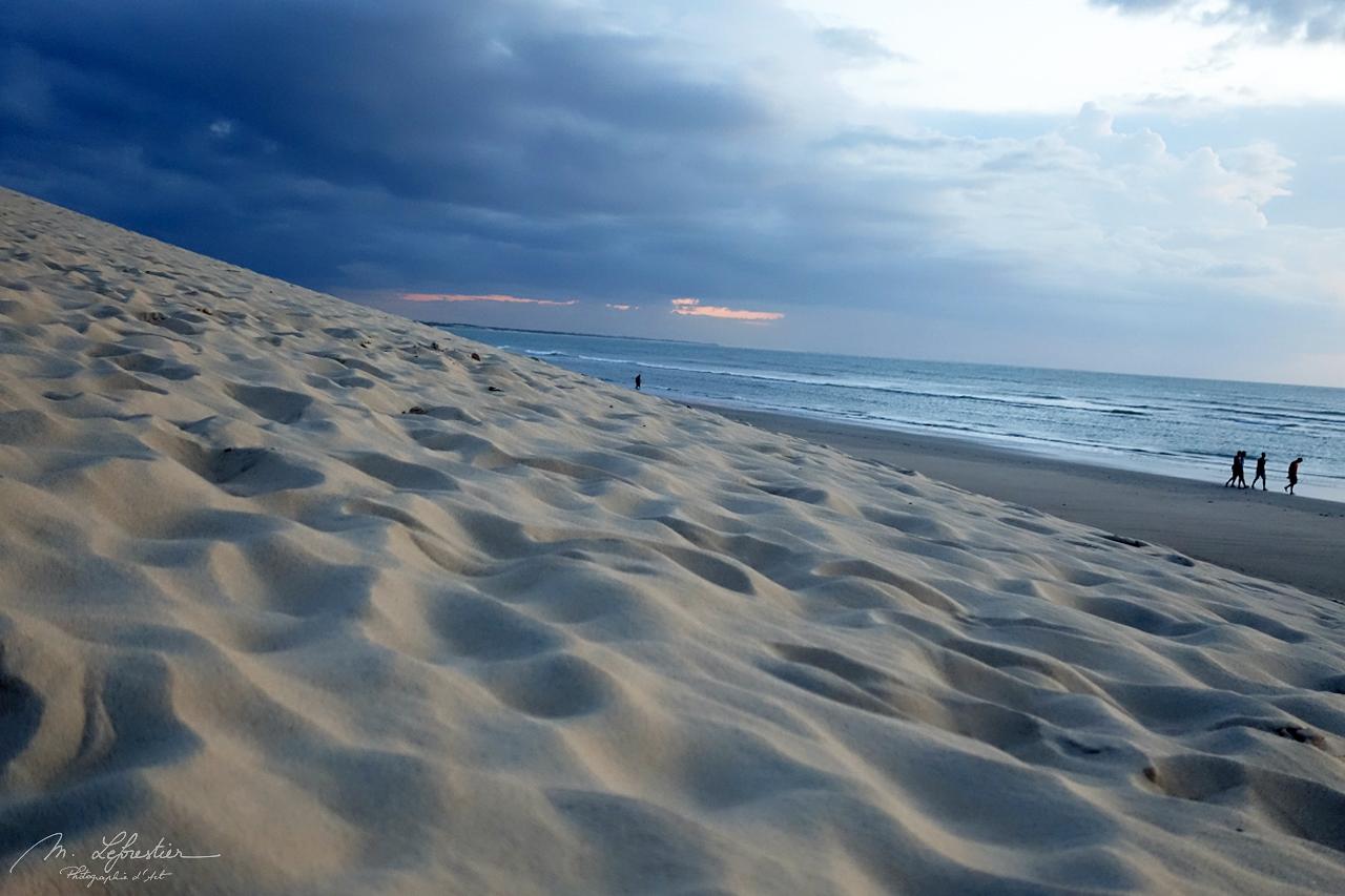 from the dunes of Jericoacoara Beach, Brazil