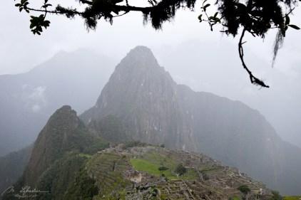 Machu Picchu heavy rain