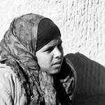 local bedouin girl in Petra Jordan