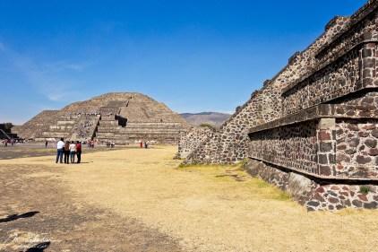 Teotihuacan Mexico pyramids