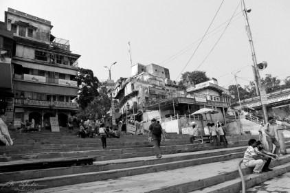 banks of the Ganges, Varanasi, India