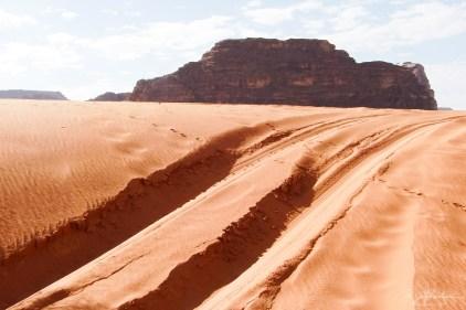red desert Wadi Rum Lawrence of Arabia