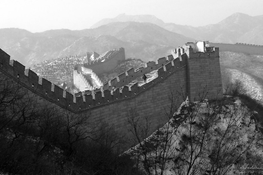 Great Wall in Badaling China