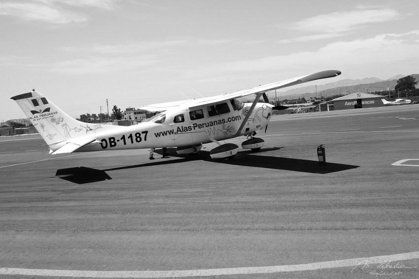 flight over the Nazca lines Peru