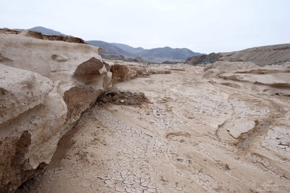 roads collapsed after the floodings of 2015 in the atacama desert
