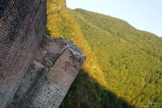 Dracula must have enjoyed the views in his Poenari castle