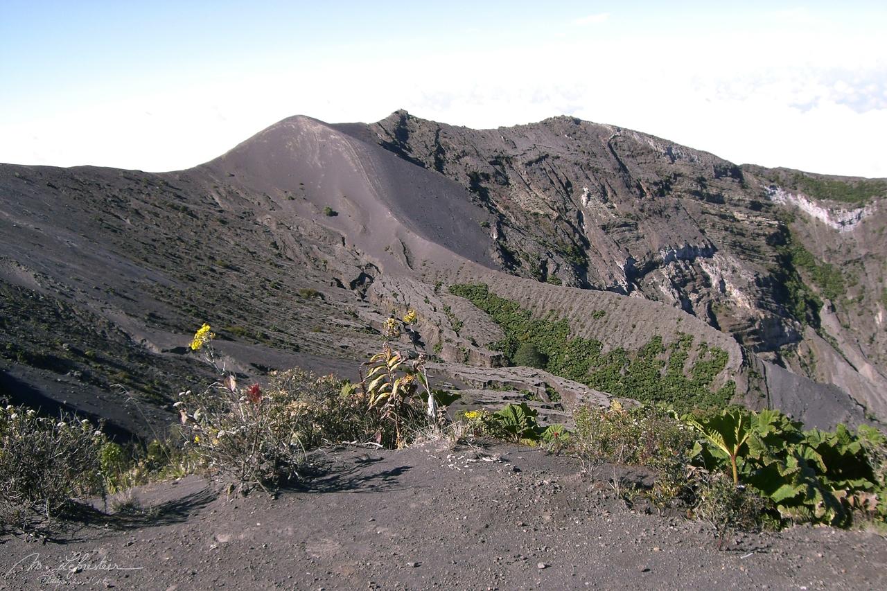 volcanic Volcano Poas Costa Rica
