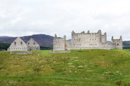 fortified barracks in Ruthven Badenoch Scotland