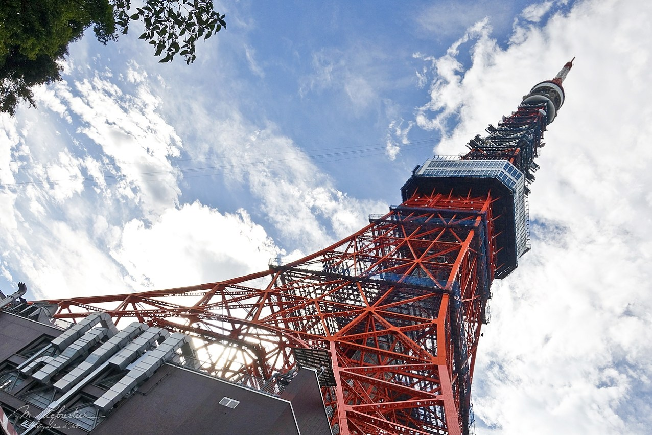 the Tokyo Tower in Japan was inspired from the Eiffel tower but it is a communications and observation tower and is of orange color