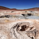 Bolivia: walk around the moon-like Sol de Mañana geyser 1