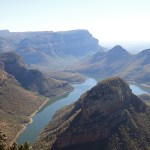 about 70km from Kruger National Park, the Blyde River Canyon is one of the largest canyons in the world