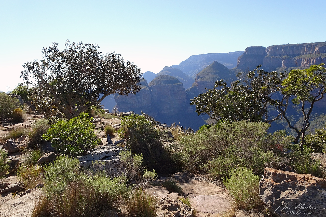 Three Rondavels or three sisters at the Blyde River Canyon in South Africa