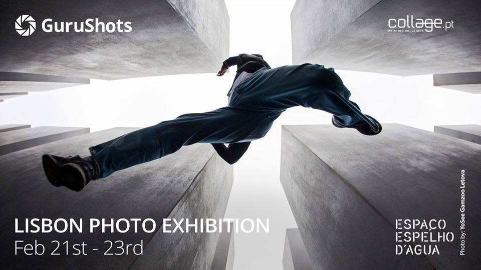 One of Myriam Leforestier 's picture exhibited in the Lisbon Photo Exhibition of Gurushots at Espaco Espelho d'Agua in Lisbon from 21 to 23 february 2020