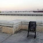 a litter bin in la Havana capital of Cuba