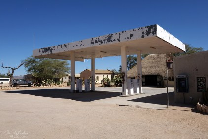 Gas station SOLITAIRE in the Namib Desert in Namibia