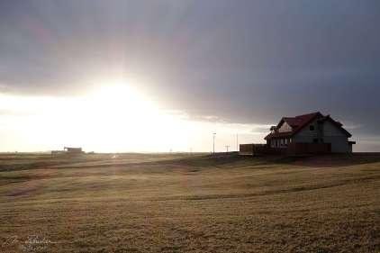 the guesthouse at Bergþórshvoll main site of the icelandic saga, Njals saga