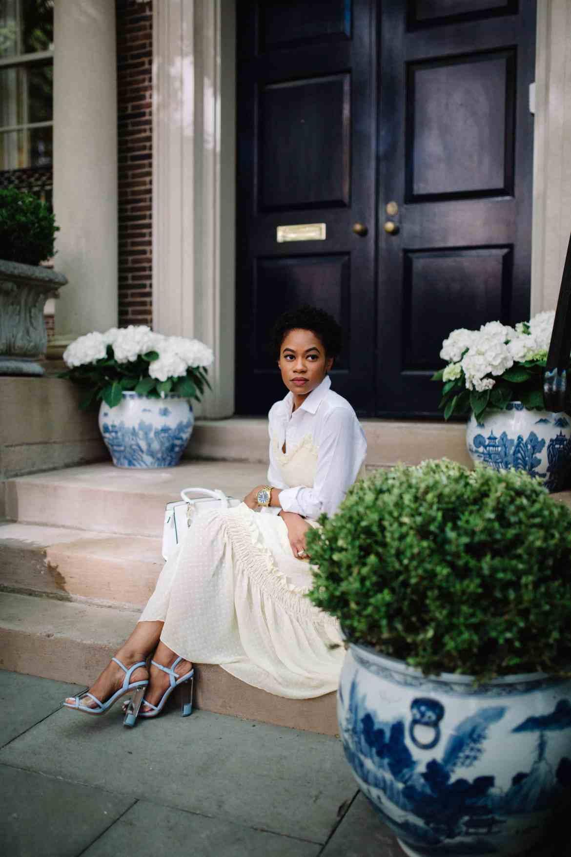 H&M Dress and ALDO shoes