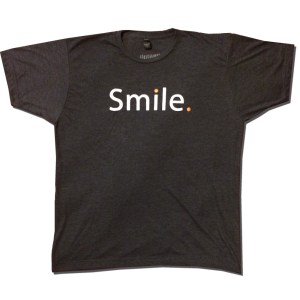 Smile. Shirt (front)