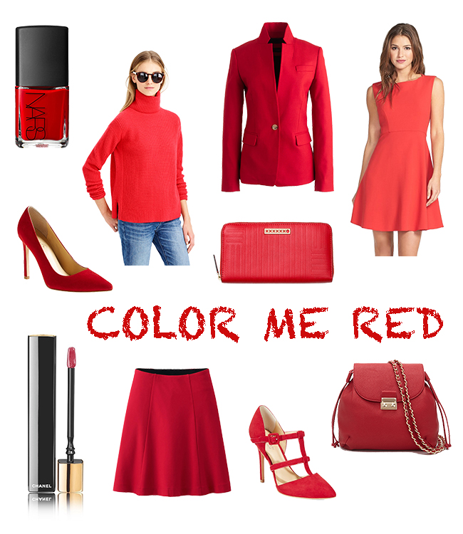 Color Me Red & Confident Twosday Link-Up