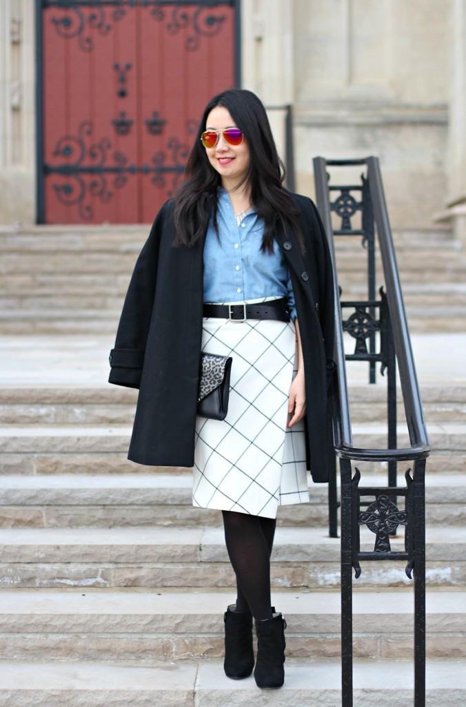 Outfit Highlight: Working on the Grid