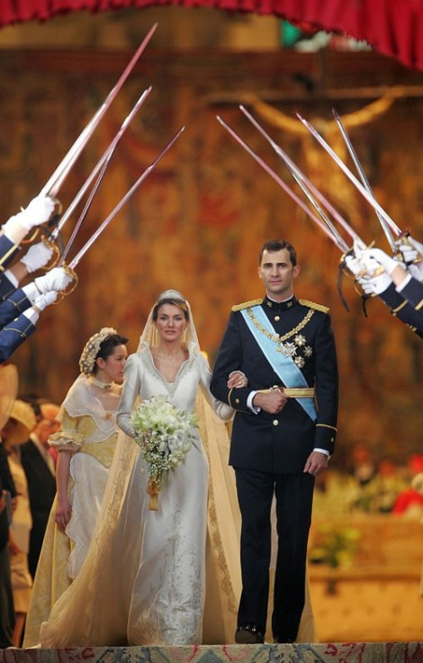 Prince Felipe Amp Princess Letizia Wedding Myroyal S Blog
