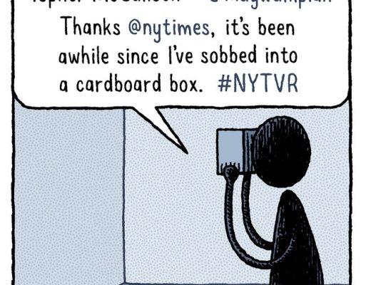 Tom Gauld cartoon for the New York Times