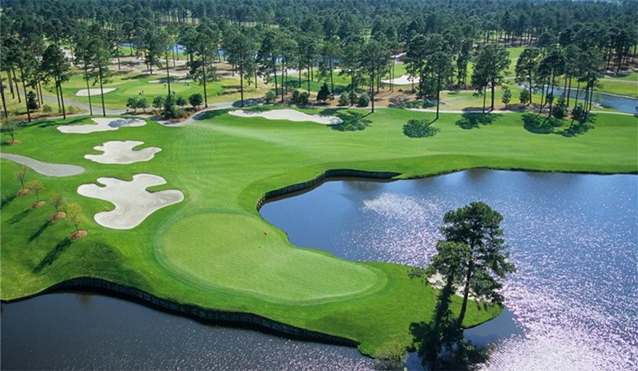 Myrtle Beach Fall Golf Packages - Ocean Front