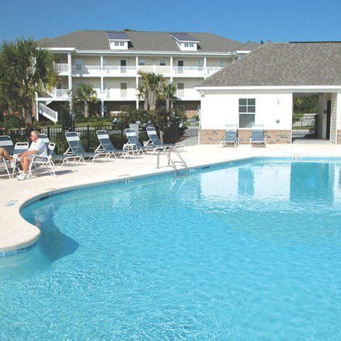 North Myrtle Villas Pool