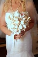 How unique is that bouquet.