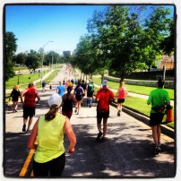 My run view 6/1/13 (Hospital Hill 1/2 marathon, Kansas City, Mo.) @ Sally Morrow Photography