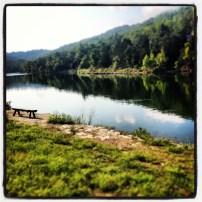 My run view at Big Cedar Lodge 2 - 8/18/13