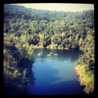My run view at Big Cedar Lodge 2 - 8/19/13