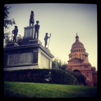 My run view 9/26/13 - Texas State Capitol - Austin, Texas © Sally Morrow Photography