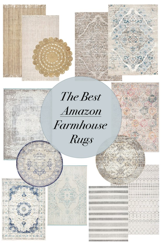 How to shop for the best and most affordable farmhouse rugs from Amazon