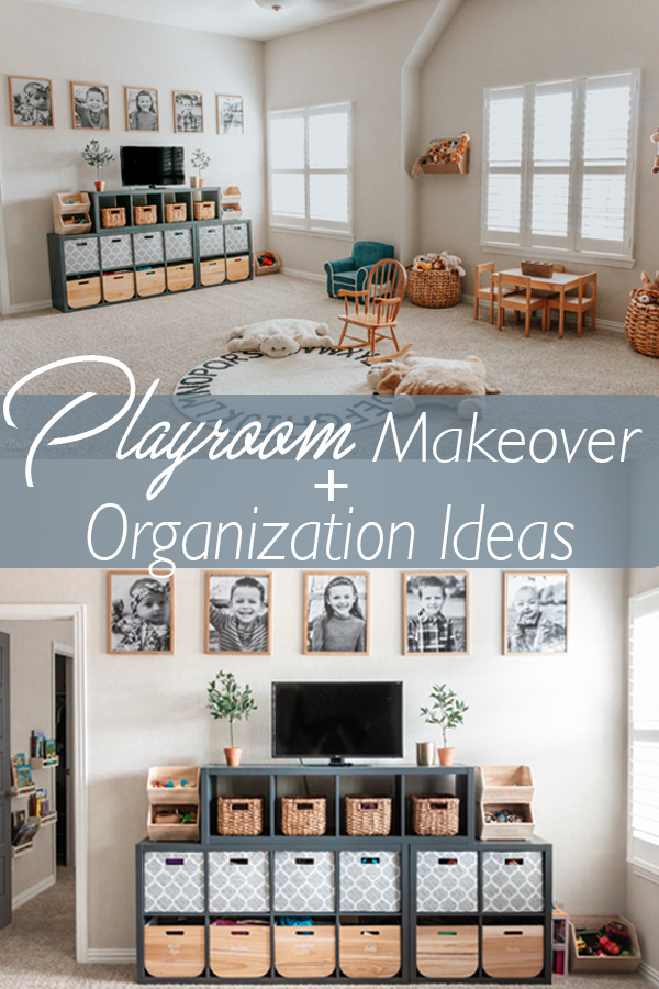 Playroom Makeover and Organization Ideas