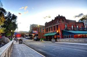 Downtown Salida - Boathouse and F Street