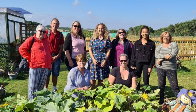 Amesbury Green Fingers Community Garden Open Day